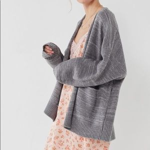 Urban Outfitters Grey Collie Cardigan
